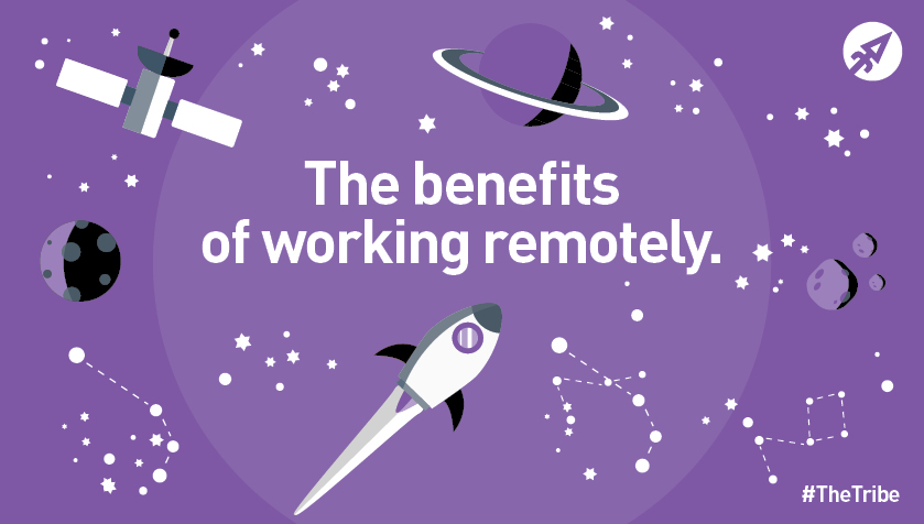 The benefits of working remotely